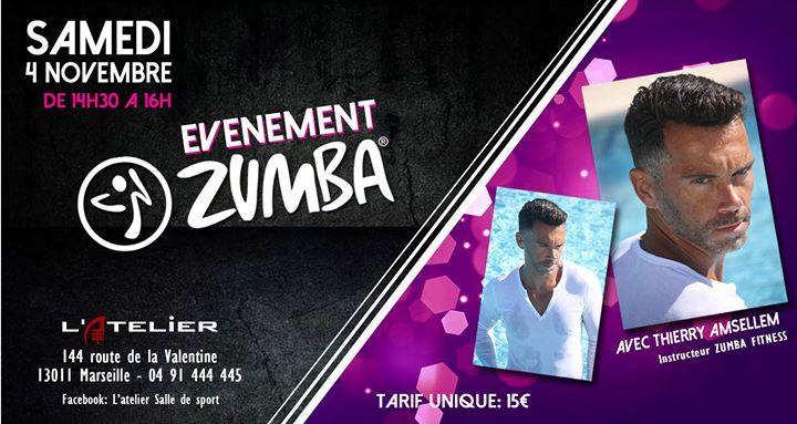 Latelier Evenement Zumba Venez Faire La Fete At L Atelier Salle