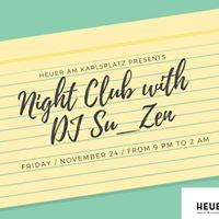 NIGHT CLUB with DJ Su_ZenNYC
