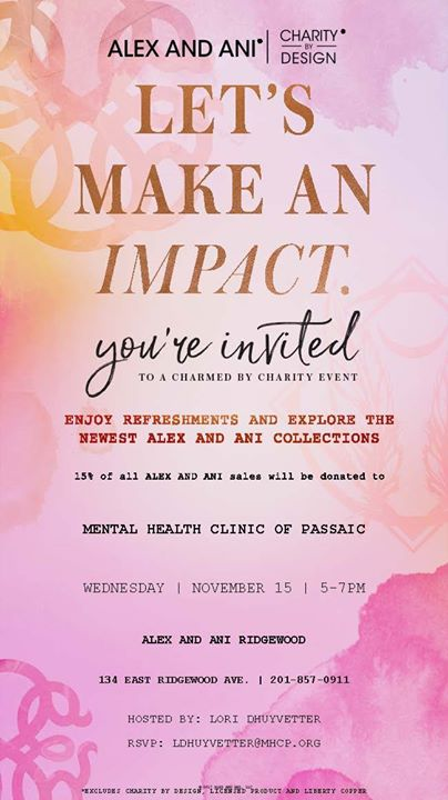 Mental Health Clinic Of Passaic At Alex And Ani Ridgewood
