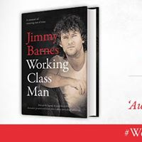 Jimmy Barnes Signing New Book Working Class Man