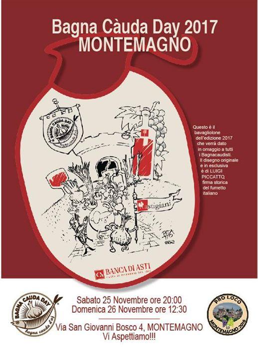 Bagna Cauda Day 2017 at Montemagno ( AT ), Provincia di Asti