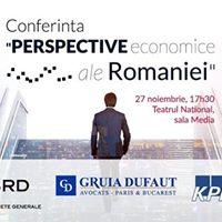 Perspective economice ale Romaniei