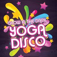 Glow in the Dark Yoga Disco
