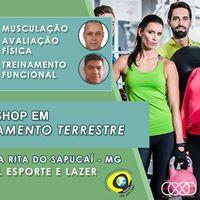 Em Minas Gerais - I Workshop em Treinamento Terrestre