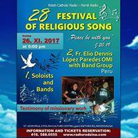Festival of Religious Song - Mississauga