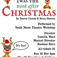 Childrens Musical Twas the week before Christmas