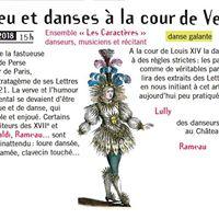 Concert baroque et danses au temps de Montesquieu