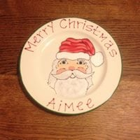 Christmas Pottery Painting in Andover