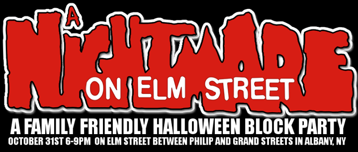 Elm st. Halloween block party at Elm St, Albany, NY 12202, United ...