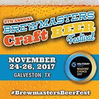 8th Annual (Rescheduled) Brewmasters Craft Beer Festival
