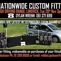 McGuirks Golf Nationwide Custom Fitting