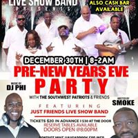 Pre-New Years Eve Party wJust Friends