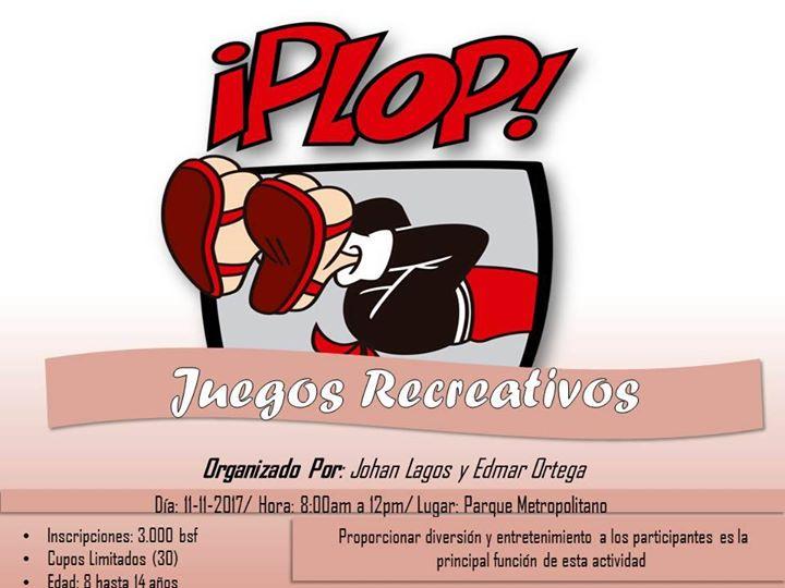 Plop Juegos Recreativos At Parque Metropolitano Monsenor Alejandro