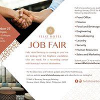 Feliz Hotel Boracay Job Fair 2017