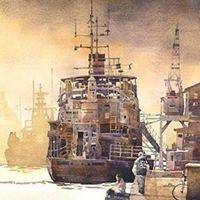 Iain Stewart Painting Light in Watercolor Workshop