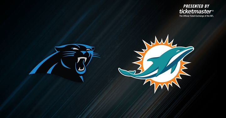 Panthers vs  Dolphins | Presented by Ticketmaster at Bank of