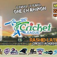 Aptech Cricket League 2017