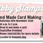 Free Hand Made Card Class - no experience neccesary