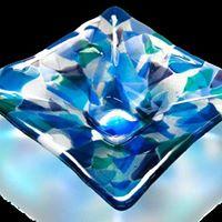 Glass Class Scatter Platter