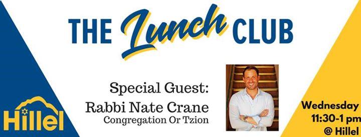 The Lunch Club Rabbi Nate Crane