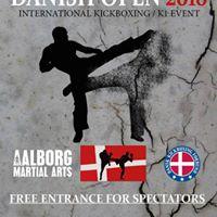 Danish Open 2018 International Kickboxing event