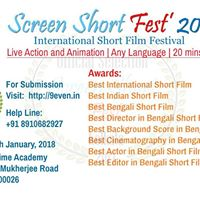 Screen Short Fest 2017