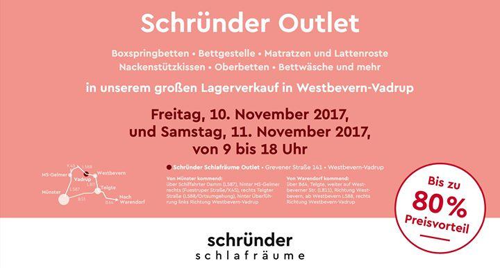Schründer Münster outlet: schründer schlafräume lagerverkauf at grevener straße 141