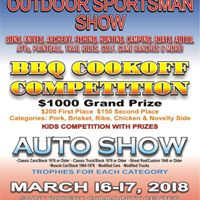 Outdoor Sportsman Show - BBQ Cookoff Competition - Auto Show