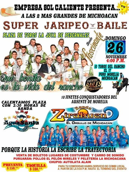 Banda Fascinante Banda Zirahuen En Plaza De Toros La Joya De P At