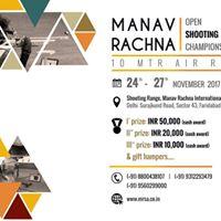 Manav Rachna Open Shooting Championship 2017 (10 Mtr Air RIFLE)