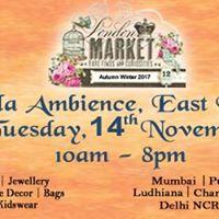London Market at Leela Ambience Hotel Surajmal Vihar East Delhi