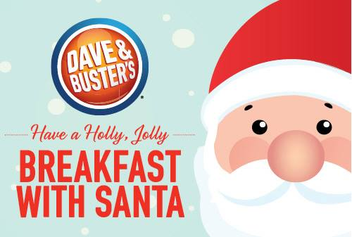Dave & Busters Albany Breakfast with Santa