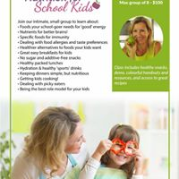 Nutrition for School Kids - for moms helpers &amp caregivers