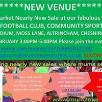 Mum2mum market Altrincham FC Community Sports Hall