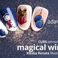 Curs Tehnici de decor Magical Winter cu Renata Kleska Satu Mare