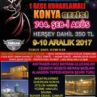 910 Aralk 2017 Ankara-Konya eb-i Arus Trenleri Gezisi