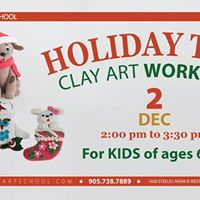 Holiday Toys - Clay Art Workshop