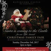 Waterford Castle Christmas Family Fair