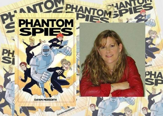 Dawn Meredith Phantom Spies Book Launch