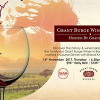 Grant Burge Wine Dinner