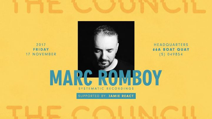 The Council presents Marc Romboy (Systematic Recordings)