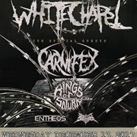 Whitechapel Carnifex Rings of Saturn Entheos and more