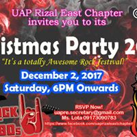 UAP Rizal East Xmas Party 2017