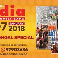 Zak Salaam India Expo 22nd Edition New Year &amp Pongal Special
