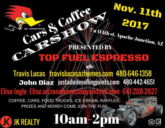 Veterans Day Car Show St Birthday Of Top Fuel Espresso At Top Fuel - Apache junction car show