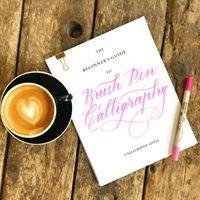The Beginners Guide to Brush Pen Calligraphy - Chandigarh