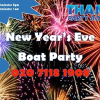 New Years Eve 2017 Boat Party