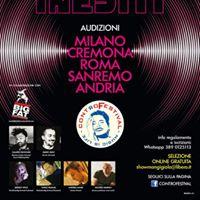 Selezione Inediti controfestival Al Palafiori Di Sanremo