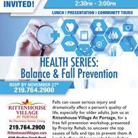 Health Series Balance &amp Fall Prevention