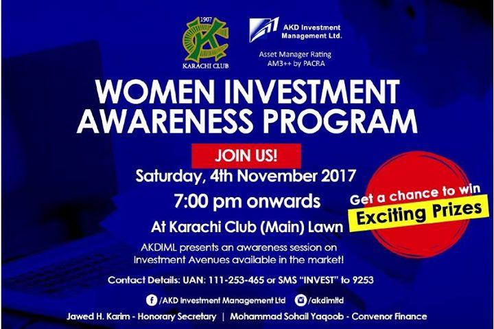 Women Investment Awareness Program
